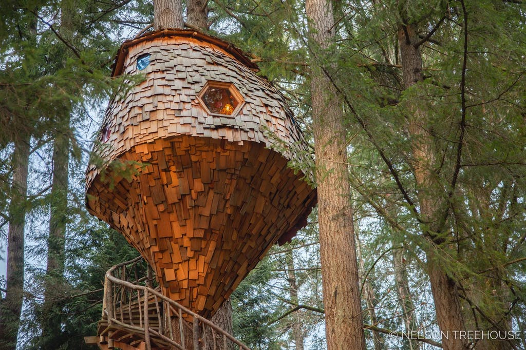 Treehouse BeeHive inspired - Built by Nelson Treehouse